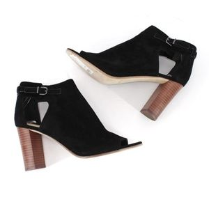 Via Spiga Giuliana Cut Out Suede Booties 8